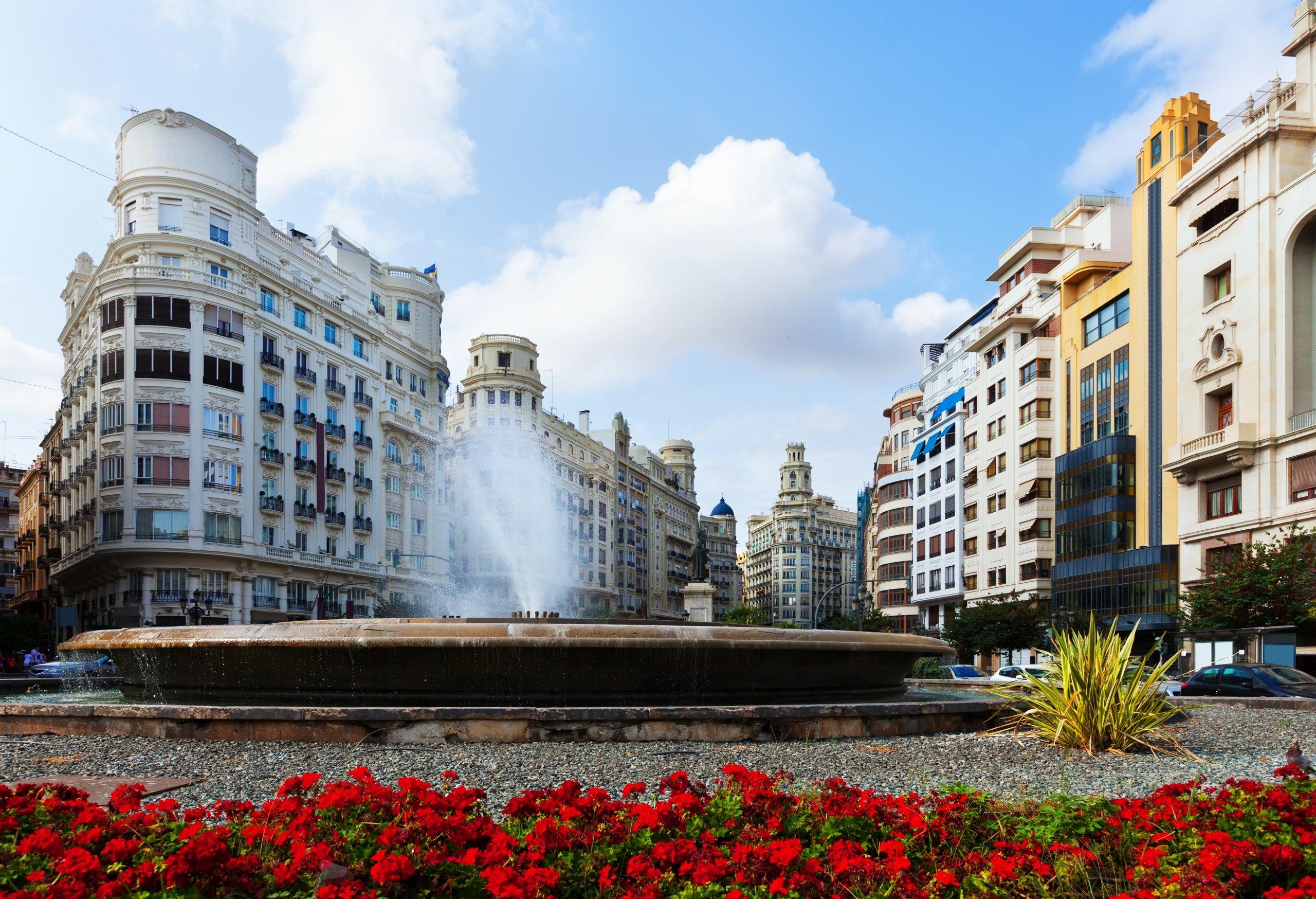 Imagen plaza ayuntamiento Valencia